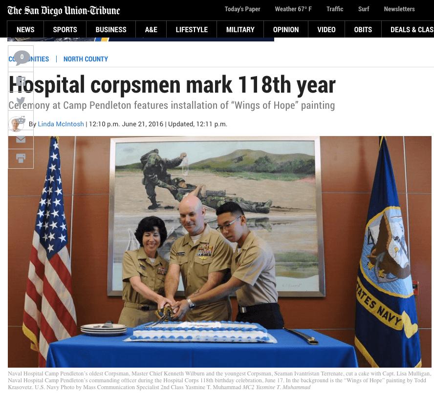 Hospital corpsmen mark 118th year