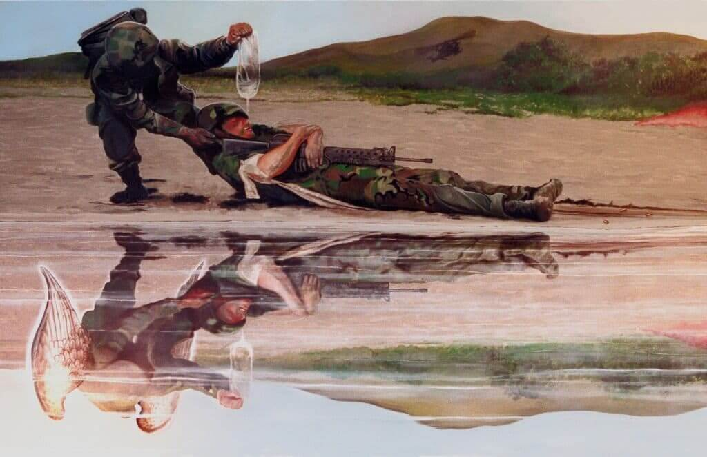 Military art by Artist Todd Krasovetz