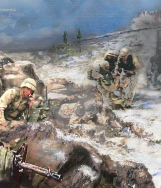 Battle-at-Roberts-Ridge-Oil -on-Canvas-Artist-Todd-Krasovetz-Oil-Painting