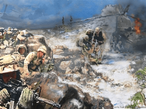 Battle at Roberts Ridge by Todd Krasovetz