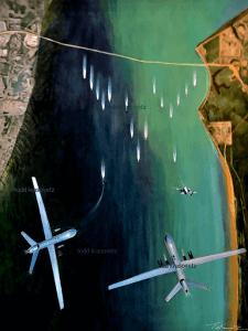 air force drone art
