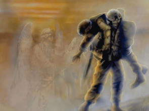 military art with angels