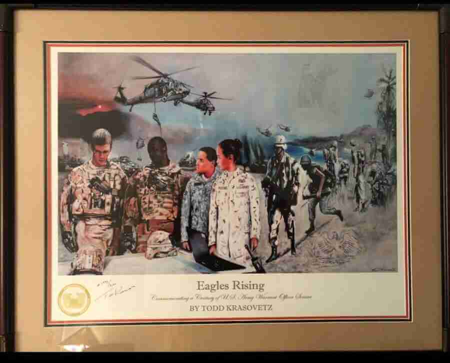 Framed Art for the Army