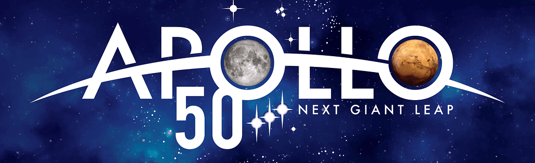 NASA Apollo 11 50th Anniversary Logo