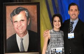 Presidential Portraits Radys Children's Hospital President Dr Chadwick oils Painting by Todd Krasovetz
